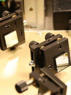 laser bounce mirror