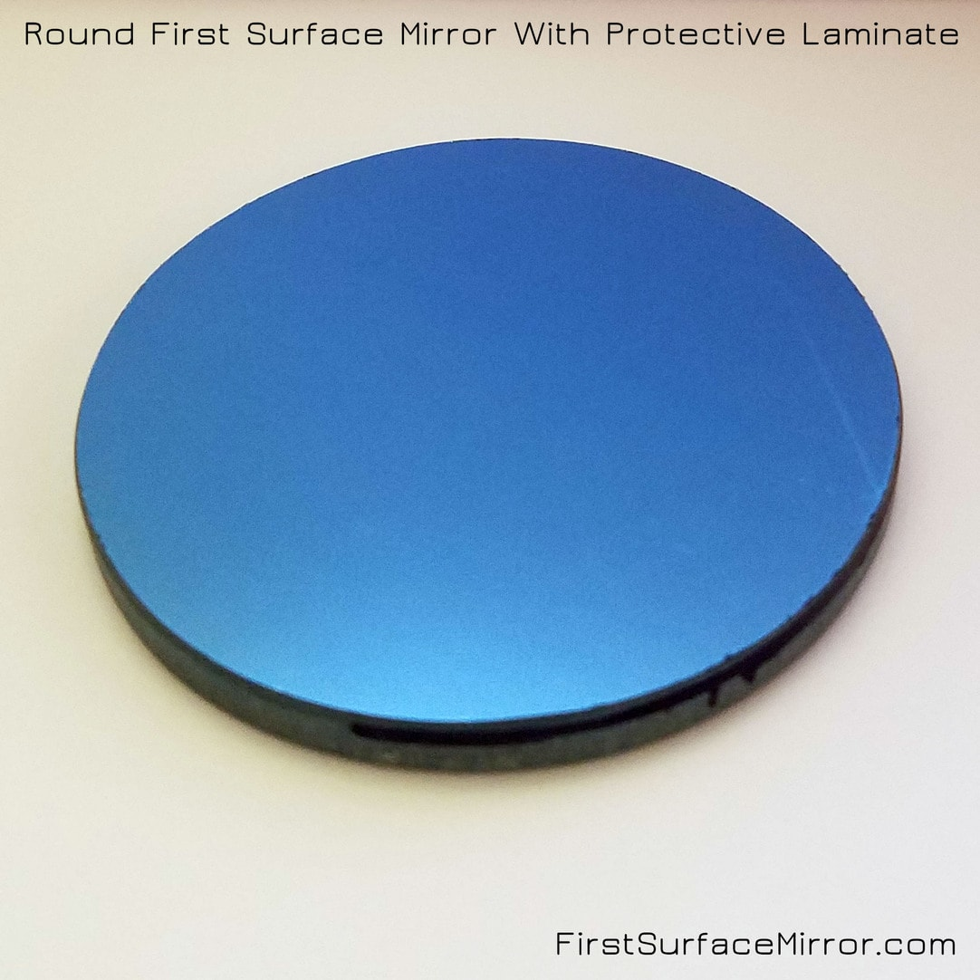 Round First Surface Mirror